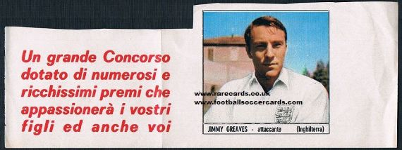1960s Greaves packet issue  Italy